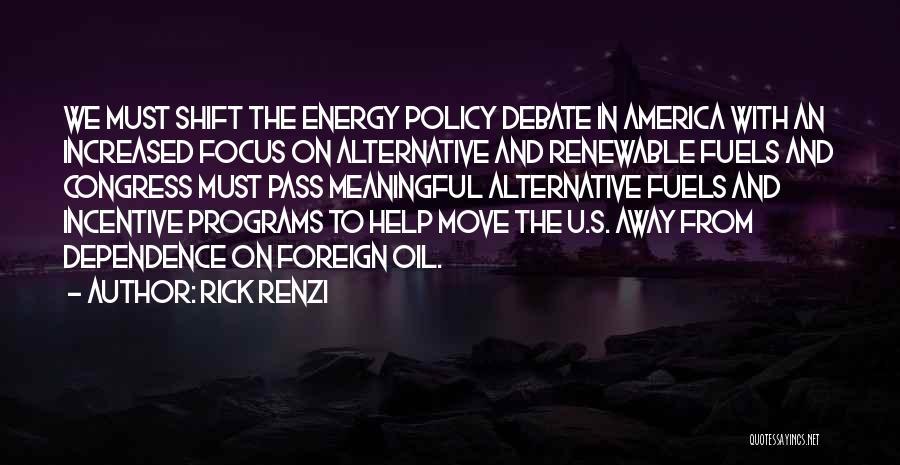 Alternative Fuels Quotes By Rick Renzi