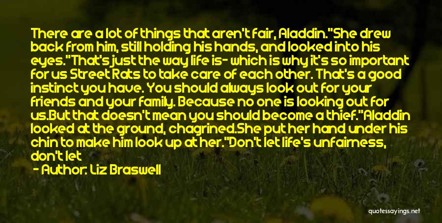 Always Be There For Family Quotes By Liz Braswell