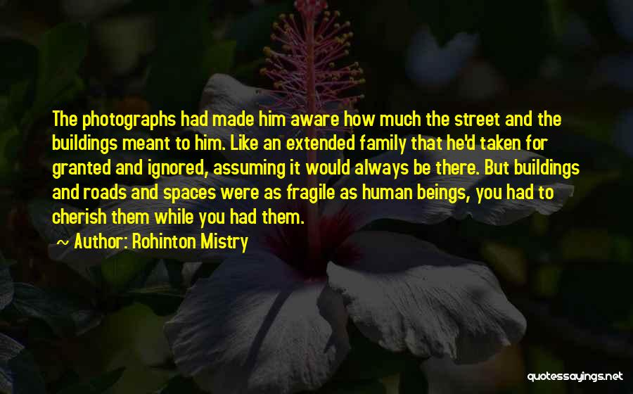 Always Be There For Family Quotes By Rohinton Mistry