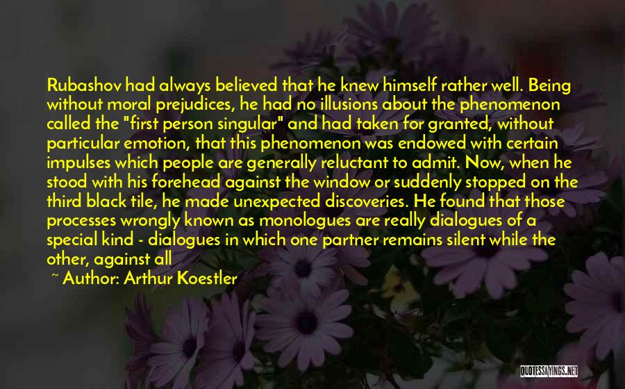 Always Being Kind Quotes By Arthur Koestler