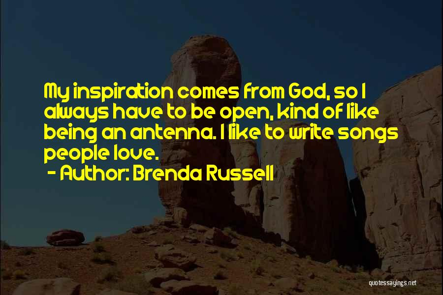 Always Being Kind Quotes By Brenda Russell