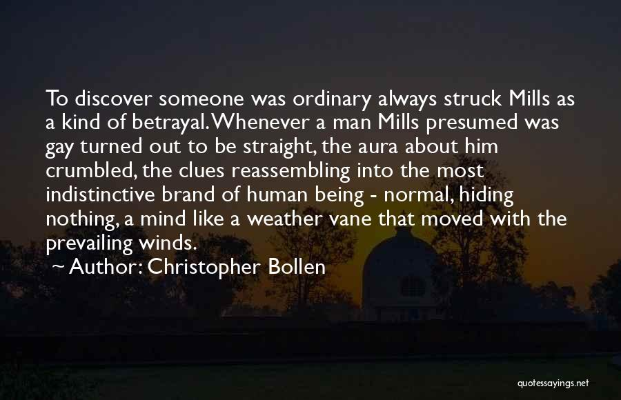 Always Being Kind Quotes By Christopher Bollen