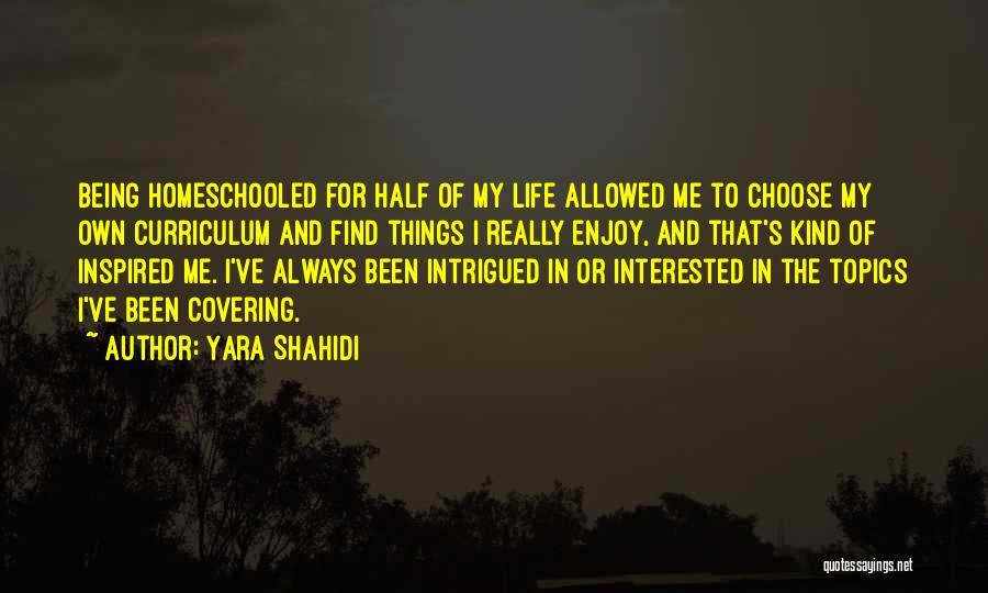 Always Being Kind Quotes By Yara Shahidi