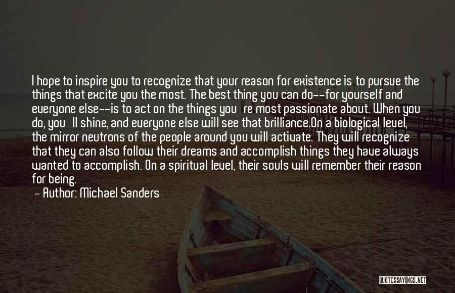 Always Do Your Best Quotes By Michael Sanders