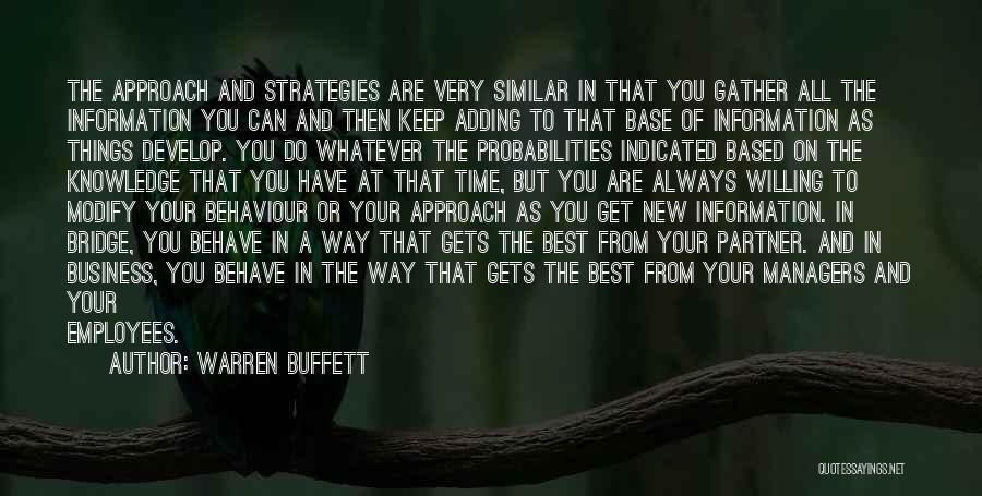 Always Do Your Best Quotes By Warren Buffett