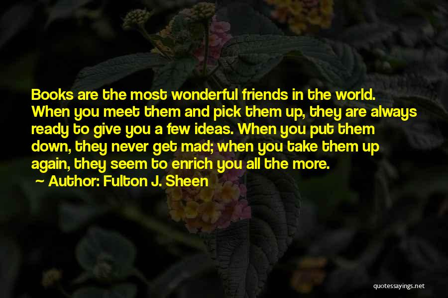 Always Give More Quotes By Fulton J. Sheen