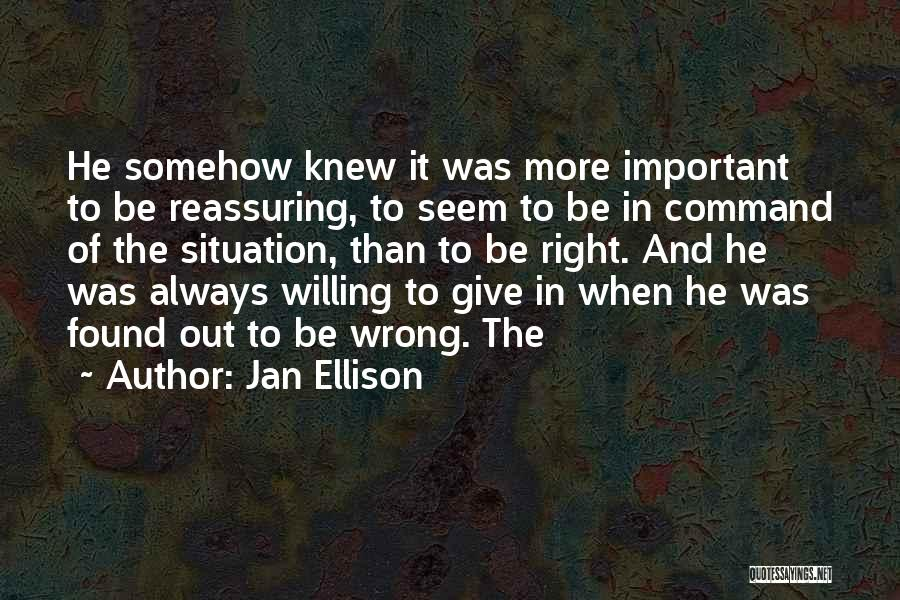 Always Give More Quotes By Jan Ellison