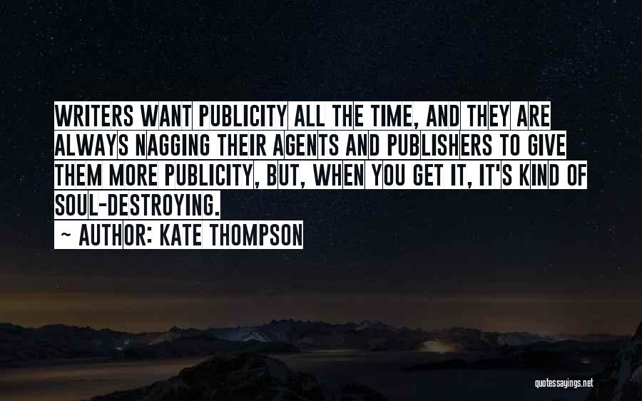 Always Give More Quotes By Kate Thompson