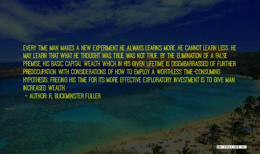 Always Give More Quotes By R. Buckminster Fuller