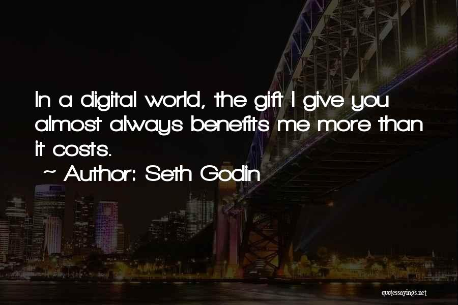 Always Give More Quotes By Seth Godin
