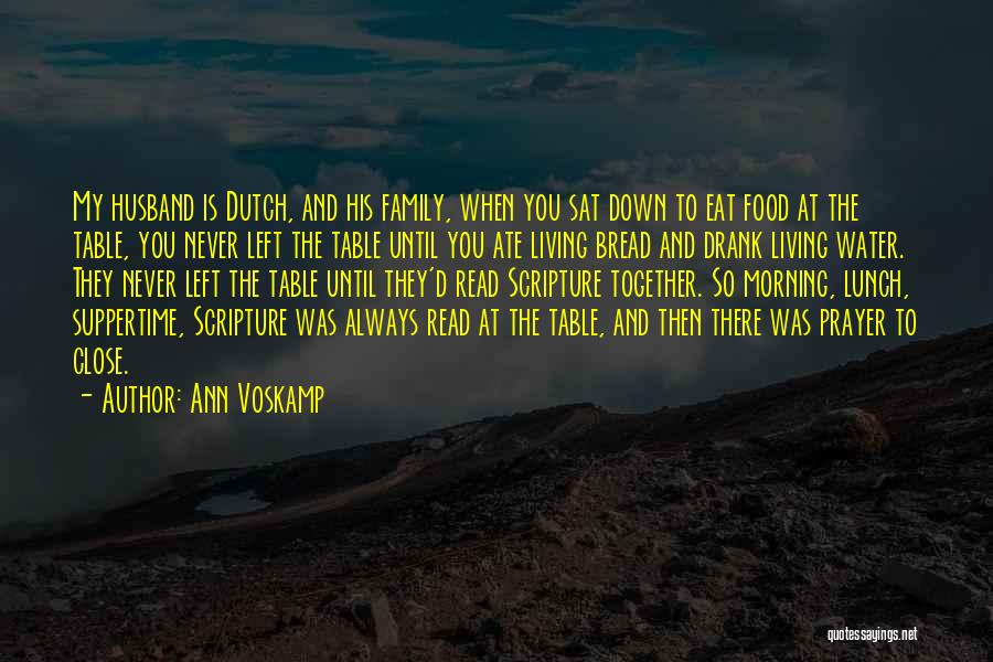 Always Together Family Quotes By Ann Voskamp