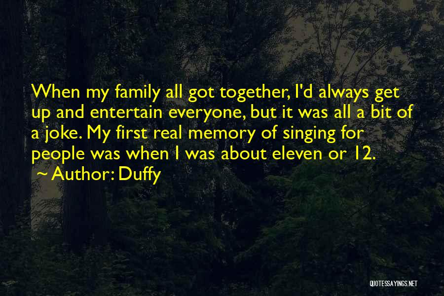 Always Together Family Quotes By Duffy
