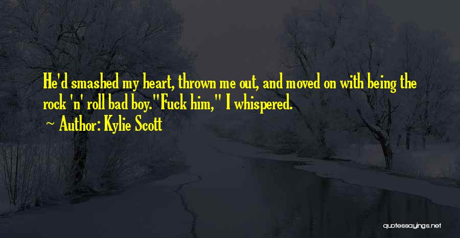 Am A Bad Boy Quotes By Kylie Scott