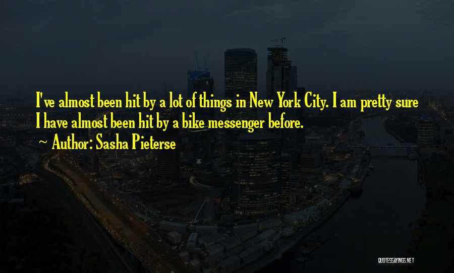 Am I Sure Quotes By Sasha Pieterse