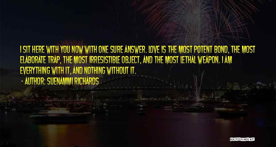 Am I Sure Quotes By Suenammi Richards