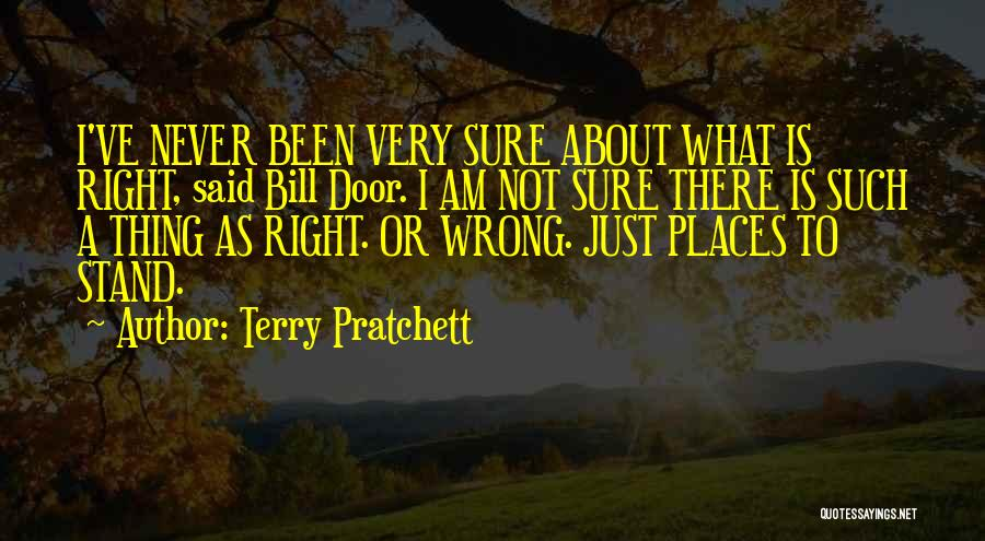 Am I Sure Quotes By Terry Pratchett