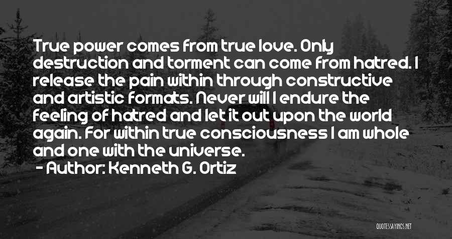 Am I The Only One Love Quotes By Kenneth G. Ortiz