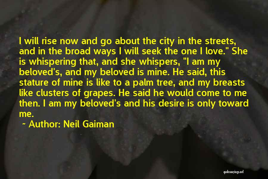Am I The Only One Love Quotes By Neil Gaiman