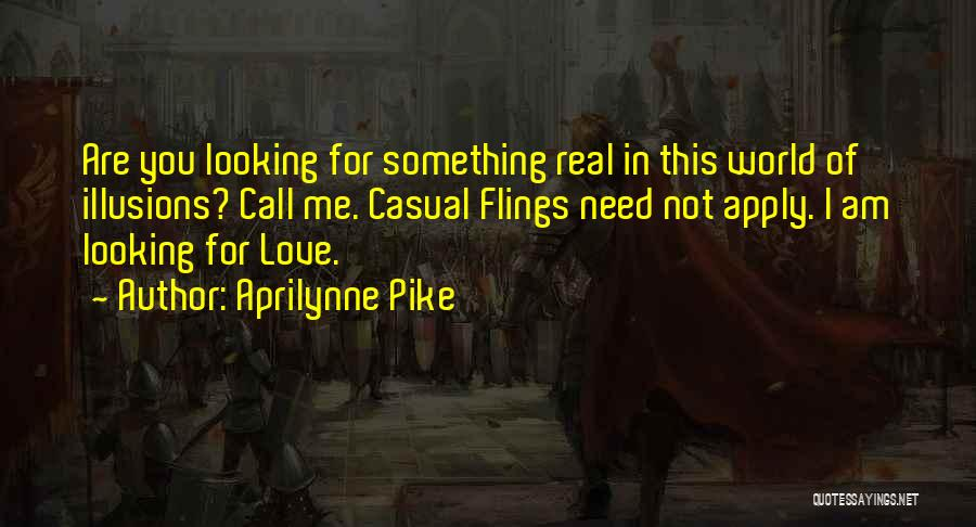 Am Looking For You Quotes By Aprilynne Pike