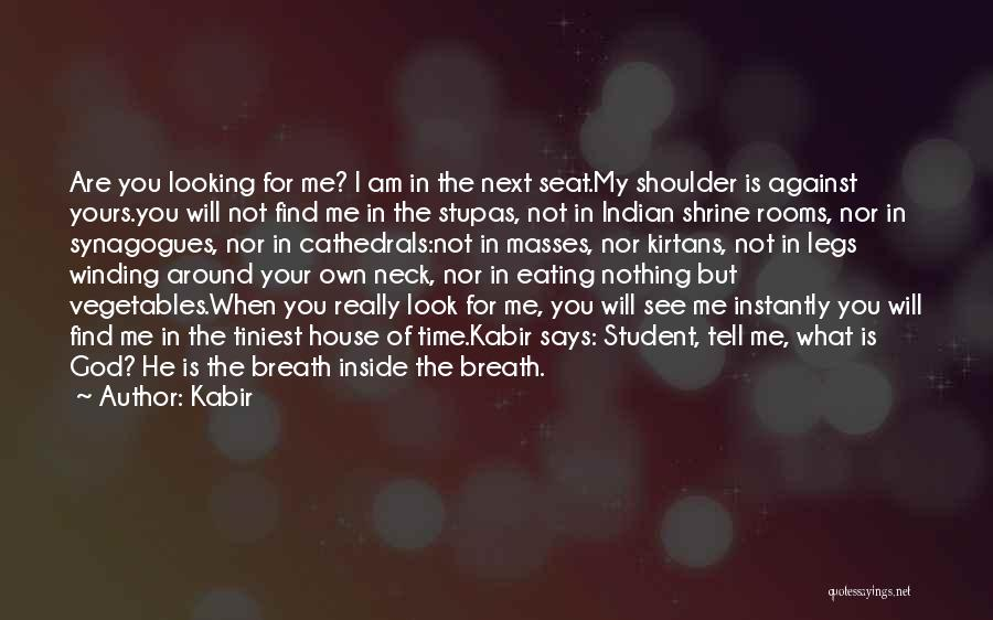 Am Looking For You Quotes By Kabir