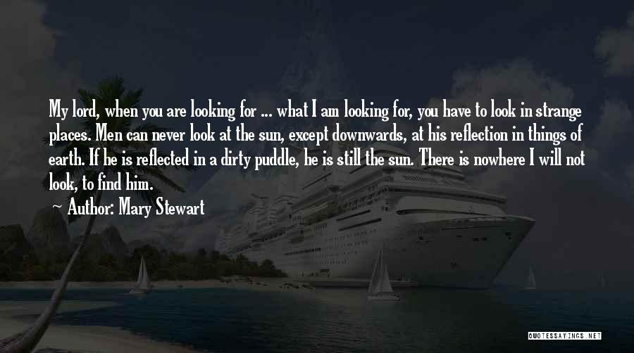 Am Looking For You Quotes By Mary Stewart