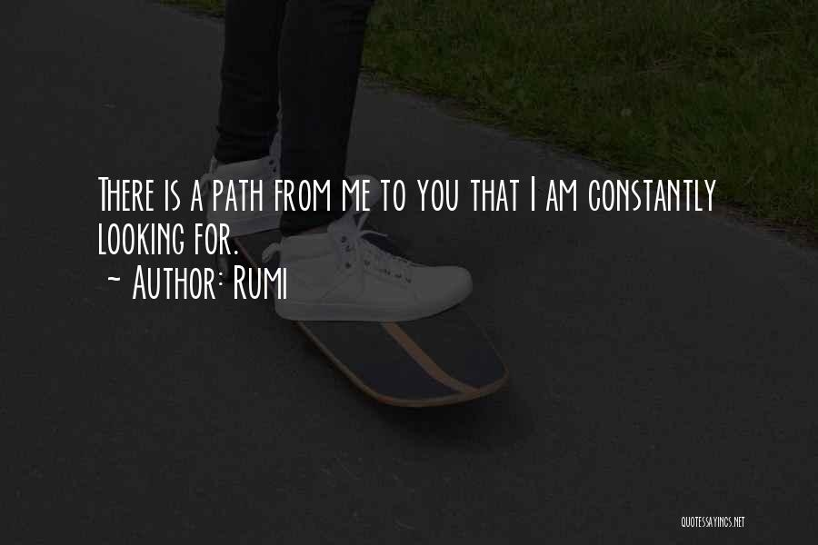Am Looking For You Quotes By Rumi