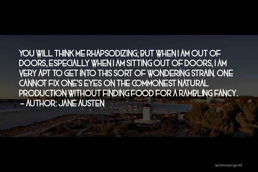 Am Sitting Quotes By Jane Austen