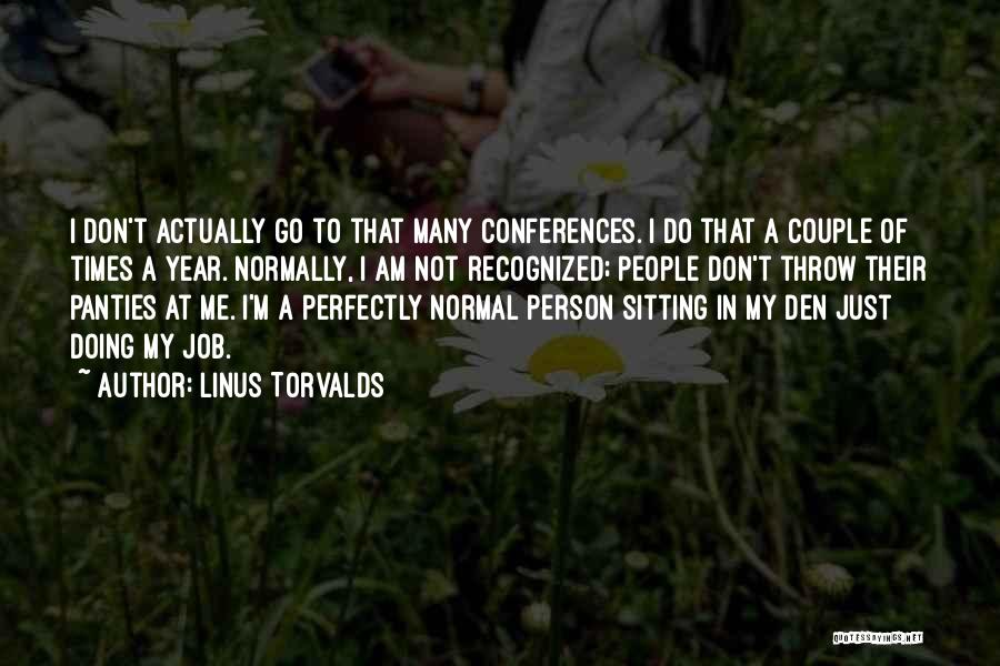 Am Sitting Quotes By Linus Torvalds
