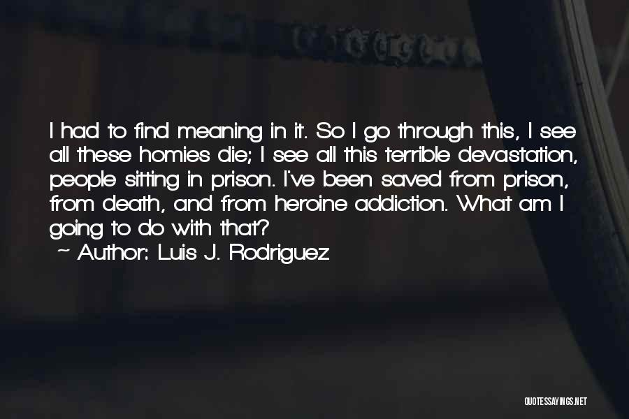 Am Sitting Quotes By Luis J. Rodriguez