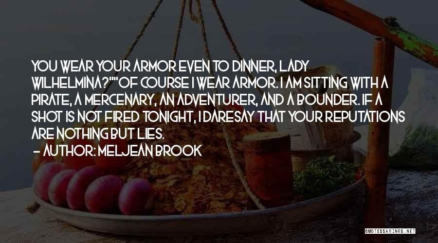 Am Sitting Quotes By Meljean Brook