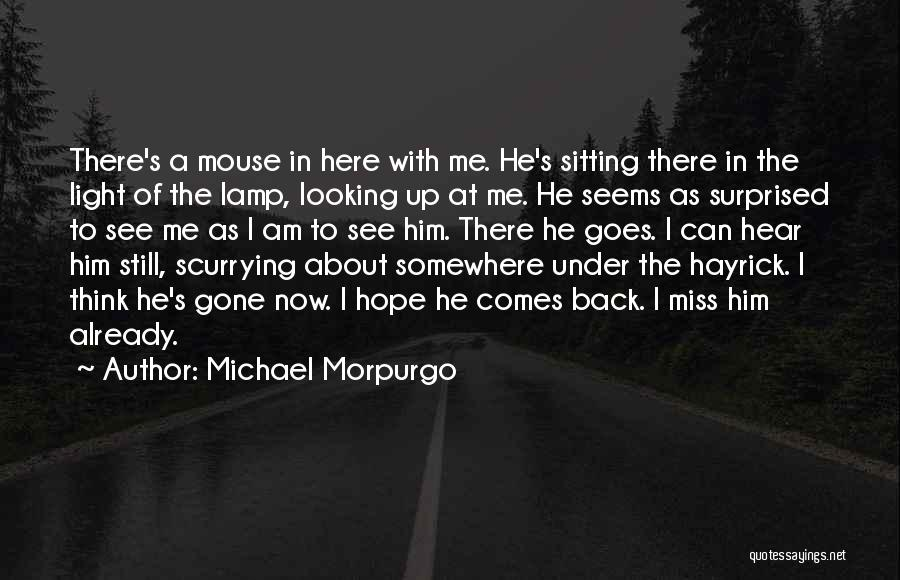 Am Sitting Quotes By Michael Morpurgo