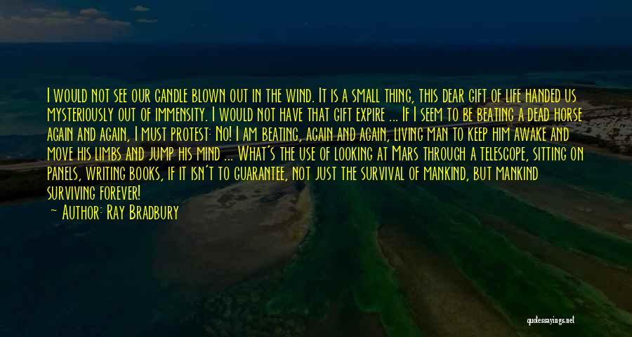 Am Sitting Quotes By Ray Bradbury