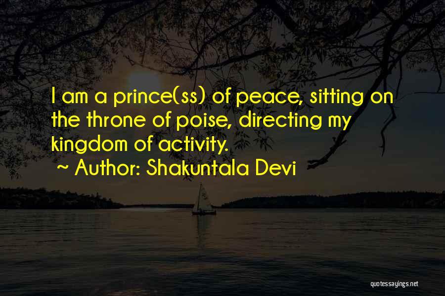Am Sitting Quotes By Shakuntala Devi