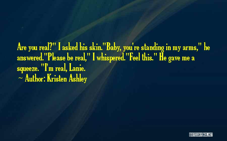 Am So Sorry Baby Quotes By Kristen Ashley