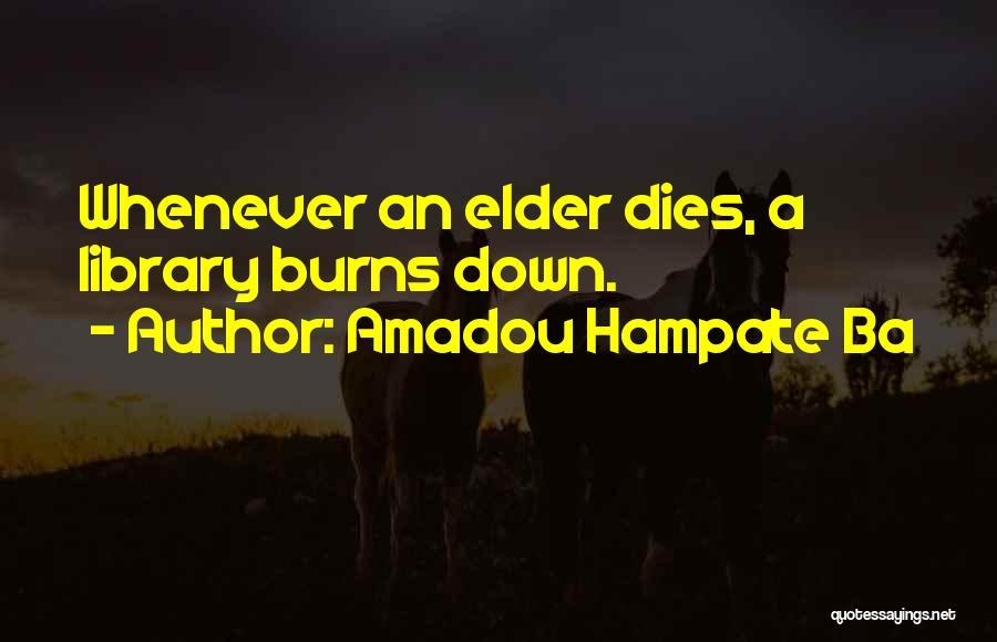 Amadou Hampate Ba Quotes 1329694