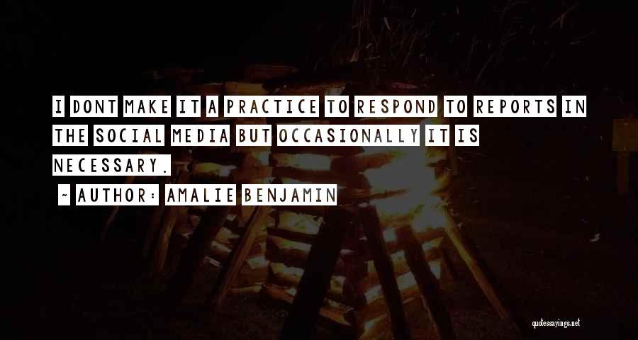 Amalie Benjamin Quotes 1423308