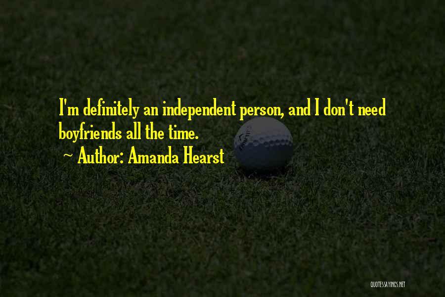 Amanda Hearst Quotes 1725309