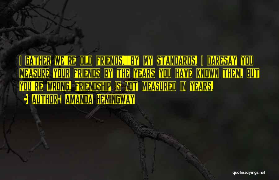 Amanda Hemingway Quotes 825256