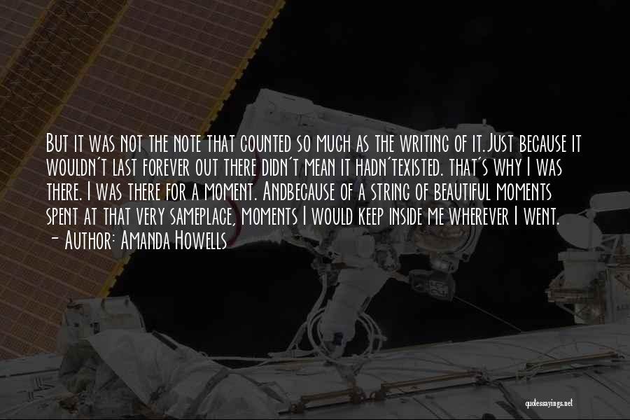 Amanda Howells Quotes 777366