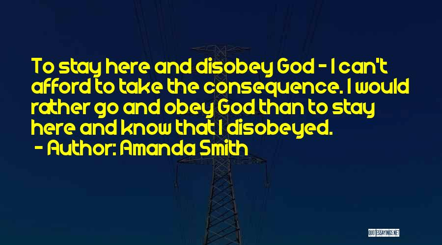 Amanda Smith Quotes 1970933