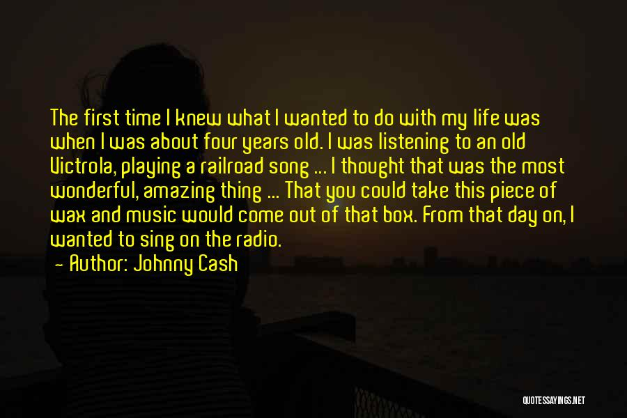 Amazing Day With You Quotes By Johnny Cash