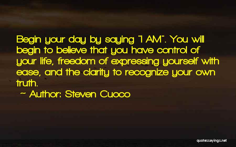 Amazing Day With You Quotes By Steven Cuoco