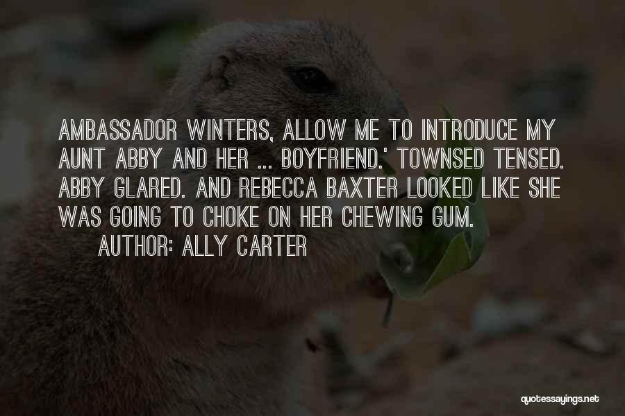 Ambassador Quotes By Ally Carter