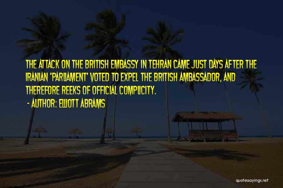 Ambassador Quotes By Elliott Abrams