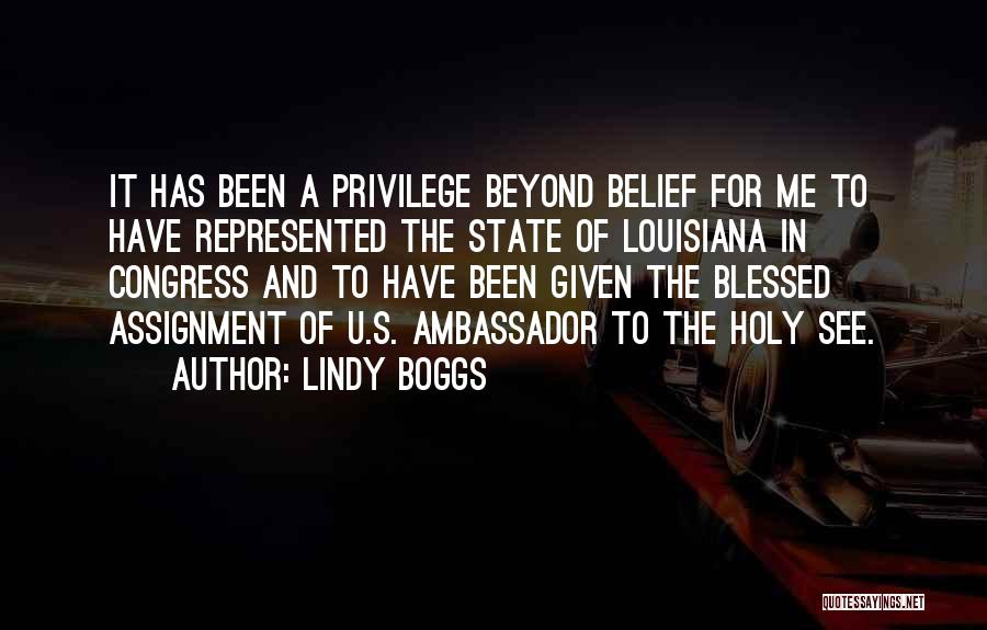 Ambassador Quotes By Lindy Boggs