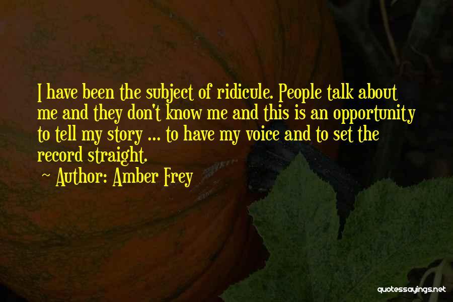 Amber Frey Quotes 819753