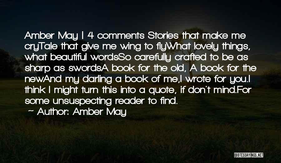 Amber May Quotes 1308235