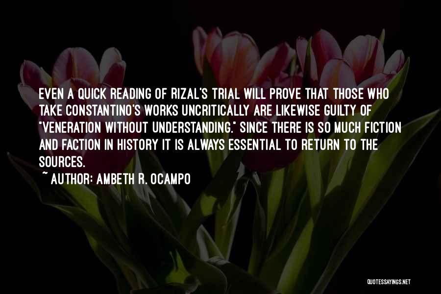 Ambeth R. Ocampo Quotes 1206163