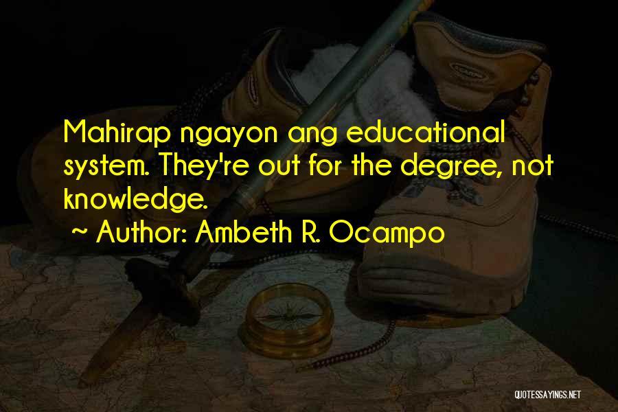 Ambeth R. Ocampo Quotes 1488450