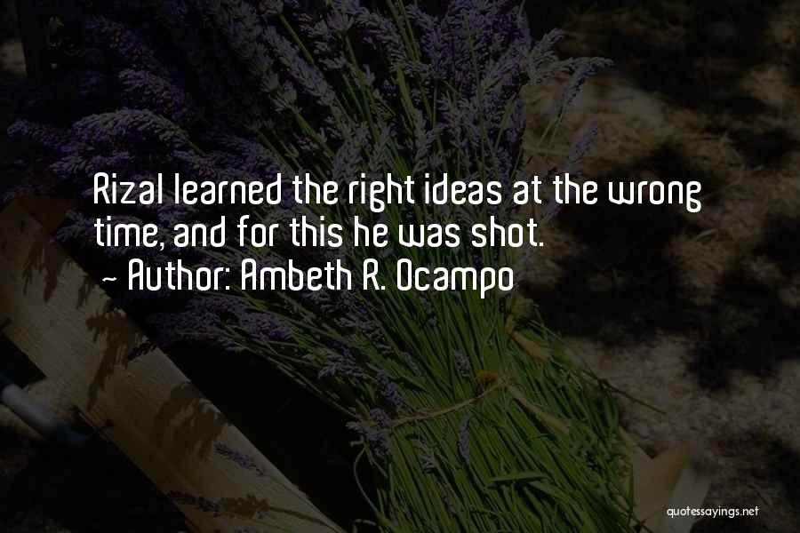 Ambeth R. Ocampo Quotes 1763237